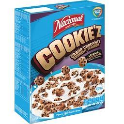 Cereais cookie z de chocolate