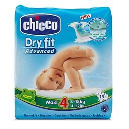 Fraldas Dry Fit, 8-18kg - Tamanho 4