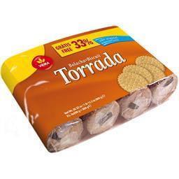 Bolacha torrada 800g 33% grátis