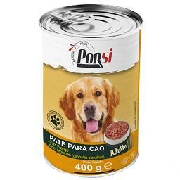 Comida húmida para cão de frango e legumes