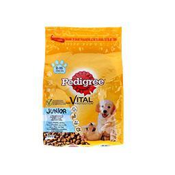 Alimento seco para cão junior