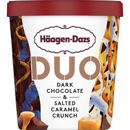 Gelado pint duo dark chocolate & salted caramel
