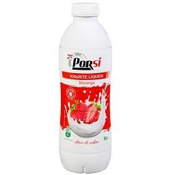 Iogurte liquido de morango