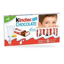 Chocolate de  leite 8 barrinhas