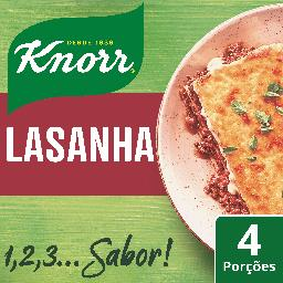 Knorr 1, 2, 3...sabor! - lasanha r