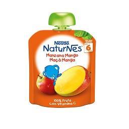Fruta para bebé maçã manga +6 meses