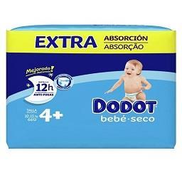 Fraldas bebé extra seco T4