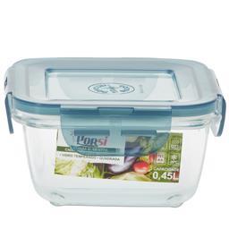 Caixa de vidro quadrada para alimentos