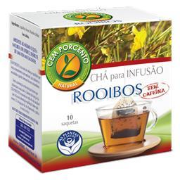 Chá infusão rooibos sem cafeína