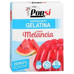 Gelatina melancia 0% açúcar