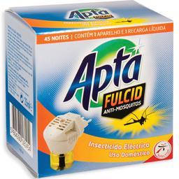 Inseticida eléctrico anti-mosquitos + recarga