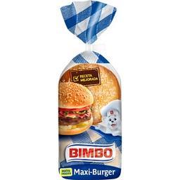 Maxi burger 4 unidades
