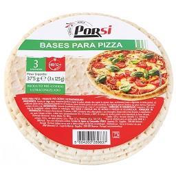 Bases para pizza