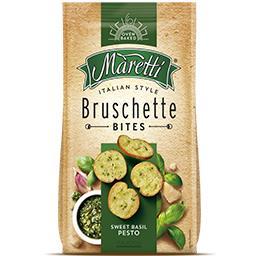Bruschette manjericão