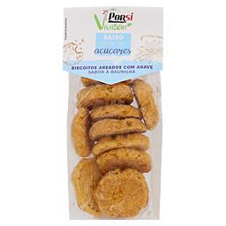 Biscoitos integrais baunilha e agave