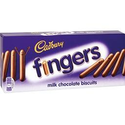 Cadbury Milk Fingers