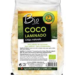 Chips de coco naturais bio