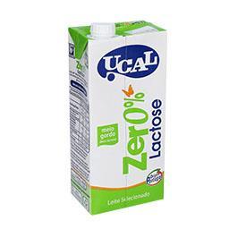 Leite 0% lactose meio gordo
