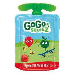 Gogosqueez snack morango