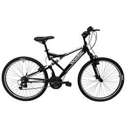 Bicicleta montanha dupla suspensão, 18 Velocidades