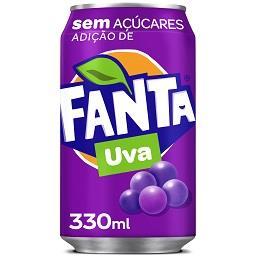 Refrigerante com gás de uva sem açúcar