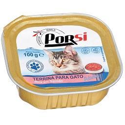 Comida húmida para gato de salmão