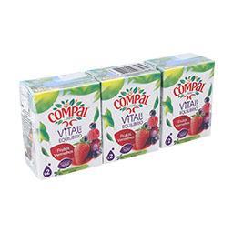 Néctar vital de frutos vermelhos