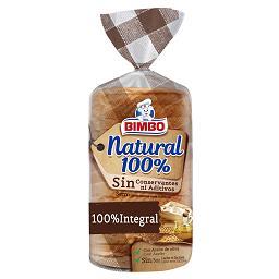 Pão de forma integral 100% natural