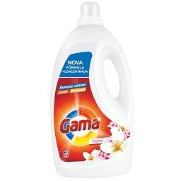Detergente líquido floral para máquina de lavar roup...