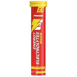 Energy electrolytes 20 effervescent tabs limão