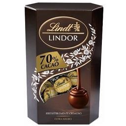 Bombons de chocolate negro 70% cacau lindor