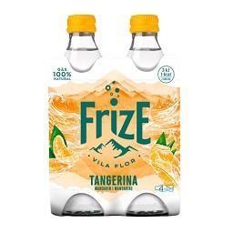 Água com gás sabor a tangerina