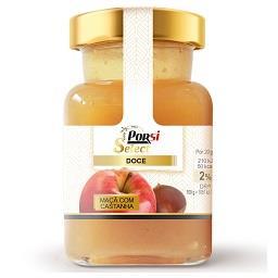 Doce de maçã com castanha