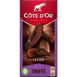 Chocolate negro praline truffle