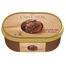 Gelado carte d'or classique chocolate