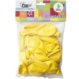 Balões latex amarelos