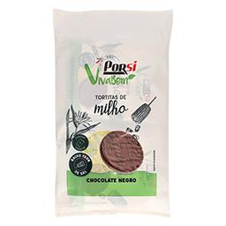 Tortitas milho chocolate negro
