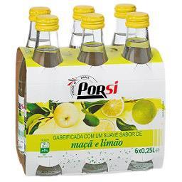 Água com gás, sabor limão