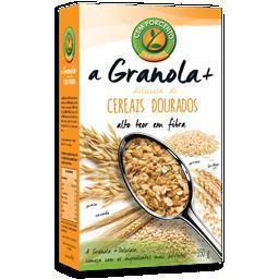 A granola + deliciosa cereais dourados