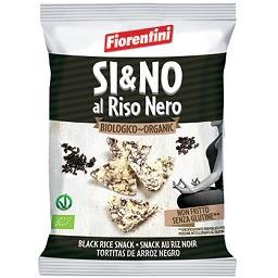Snack de arroz preto biológico