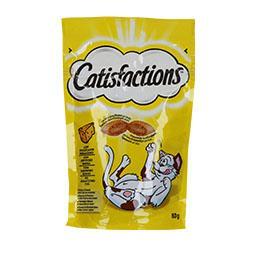Snack para gato de queijo