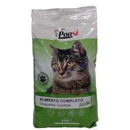 Alimento seco p/gato adulto cocktail