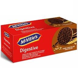 Bolacha digestive chocolate negro