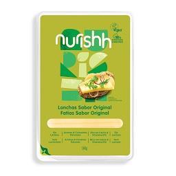 Fatias de especialidade vegan nurishh original