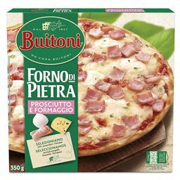 Pizza forno de pietra prosciutto e formaggio