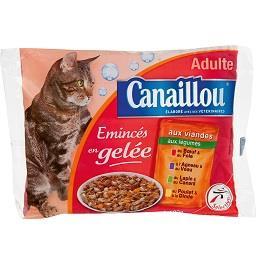 Alimento húmido gato, geleia, saqueta