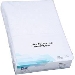 Proteção de colchão impermeável | frente: 80% algodã...