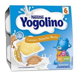 Alimento lácteo cereais e bolachas maria +6 meses
