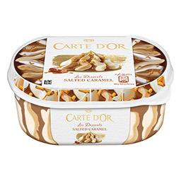 Gelado carte d'or salty caramel