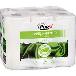Papel higiénico reciclado 2 folhas